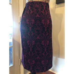 Pencil Skirt (purple) #shesdarlin!